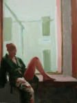 A Leg Up, 2010, Acrylic on Panel