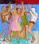 """Brazil, 2008, Acrylic on Panel, 48"""" x 44"""""""