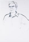 "Jack (Macrae), 2002, Graphite on paper, 58"" x 38"""