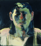 "Liz Series #8, 1991, Oil on Canvas, 34"" x 30""   <code>•</code>"