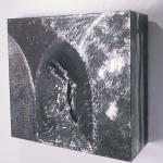 "Aluminum #2, 1992, Mixed Media, 19"" x 23 3/4"" x 11""   <code>•</code>"