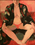 Red Pants, 2005, Acrylic on panel