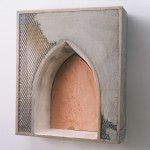 "Cement, 1992, Mixed Media, 22"" x 18 1/2"" x 6""   <code>•</code>"
